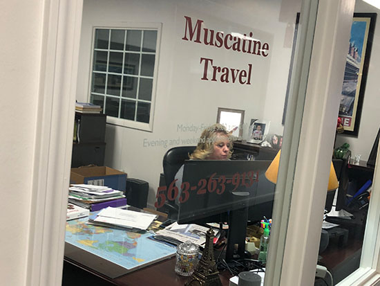 Muscatine Travel Agent