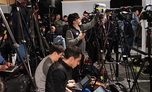 Press Coverage Political Event